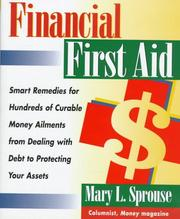 Cover of: Financial first aid | Mary L. Sprouse