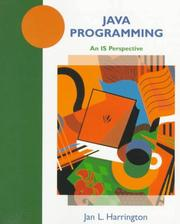 Cover of: Java programming: an IS perspective