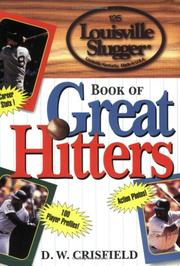 Cover of: The Louisville Slugger book of great hitters