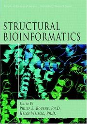 Cover of: Structural Bioinformatics (Methods of Biochemical Analysis, V. 44) |