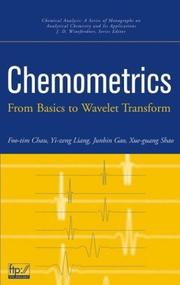 Cover of: Chemometrics by