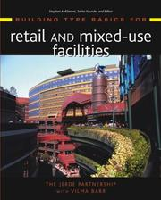 Cover of: Building Type Basics for Retail and Mixed-Use Facilities (Building Type Basics) | The Jerde Partnership