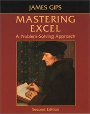 Cover of: Mastering Excel | James Gips