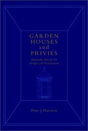 Cover of: Garden houses and privies