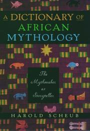 Cover of: A Dictionary of African Mythology