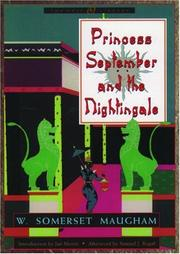 Cover of: Princess September and the nightingale by W. Somerset Maugham