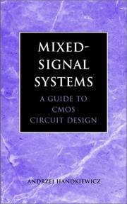 Cover of: Mixed-signal systems