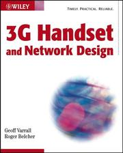 3G handset and network design by Geoffrey Varrall