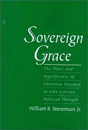 Cover of: Sovereign grace