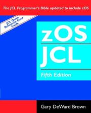 Cover of: zOS JCL