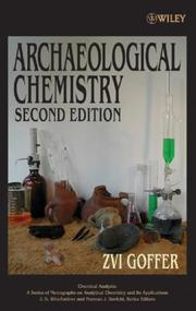 Cover of: Archaeological chemistry