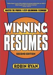 Cover of: Winning Resumes
