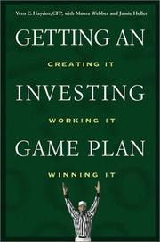 Cover of: Getting an Investing Game Plan | Vern C. Hayden