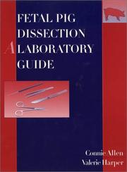 Cover of: Fetal pig dissection | Connie Allen