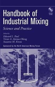 Cover of: Handbook of Industrial Mixing | North American Mixing Forum