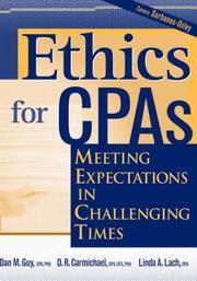 Cover of: Ethics for CPAs | Dan M. Guy