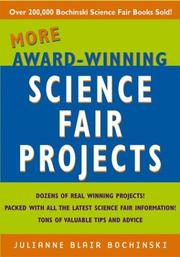 Cover of: More Award-Winning Science Fair Projects