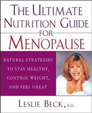 Cover of: The Ultimate Nutrition Guide for Menopause