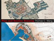 Cover of: Plan and Section Drawing (Landscape Architecture) by Thomas C. Wang