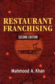 Cover of: Restaurant franchising