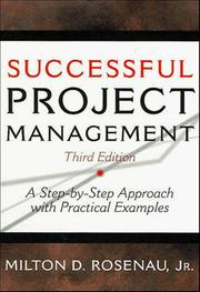 Successful project management by Milton D. Rosenau
