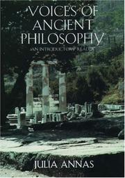 Cover of: Voices of Ancient Philosophy