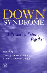 Cover of: Down Syndrome |