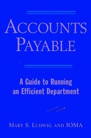 Cover of: Accounts Payable