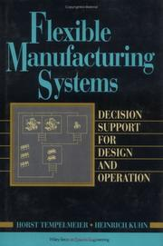 Cover of: Flexible manufacturing systems
