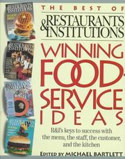 Cover of: Winning Foodservice Ideas