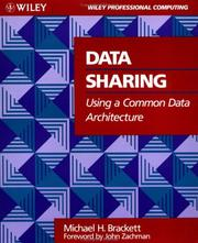 Cover of: Data sharing using a common data architecture