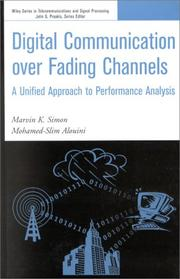 Cover of: Digital Communication over Fading Channels | Marvin K. Simon