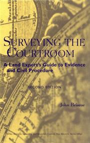 Cover of: Surveying the courtroom