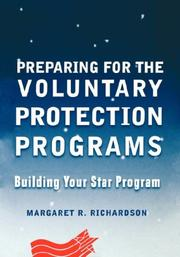 Cover of: Preparing for the voluntary protection programs