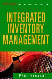 Cover of: Integrated inventory management