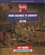 Cover of: From colonies to country | Joy Hakim