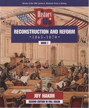Cover of: Reconstruction and reform