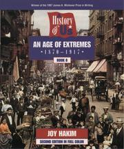 Cover of: An age of extremes | Joy Hakim