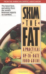 Cover of: Skim the Fat