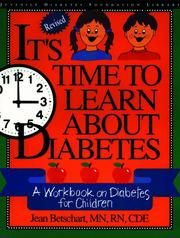 Cover of: It's Time to Learn About Diabetes