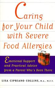 Cover of: Caring for Your Child with Severe Food Allergies | Lisa Cipriano Collins