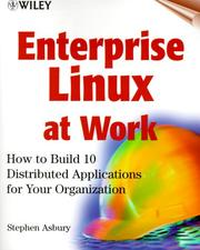 Cover of: Enterprise Linux at Work