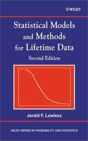 Statistical models and methods for lifetime data by J. F. Lawless