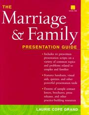 Cover of: The Marriage and Family Presentation Guide