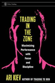 Cover of: Trading in the Zone