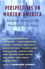 Cover of: Perspectives on modern America |