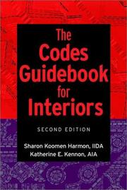 The codes guidebook for interiors by Sharon Koomen Harmon