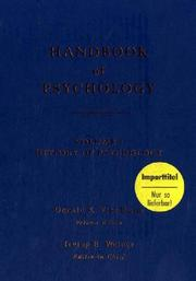 Handbook of Psychology, Volume 1: History of Psychology