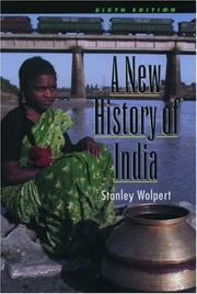Cover of: A new history of India