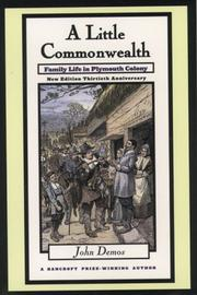 A little commonwealth by John Demos
